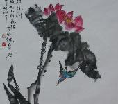 胡太平_中国画_荷