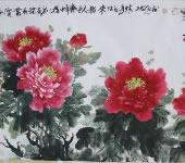 王雄军_中国画_牡丹