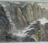 向伟_中国画_黄山图