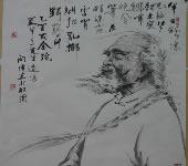 向伟_中国画_人物