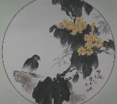 余维学_中国画_秋菊