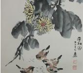 余维学_中国画_金秋图
